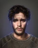 Kit Harington by CarolinVogt