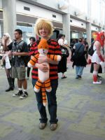 Fanime: Calvin and Hobbes by KaraTails