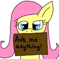 Ask Me Anything by xX-Fluttershy-Xx