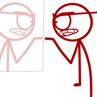 red's reflection part one (animation) by Demonic-stickfigures