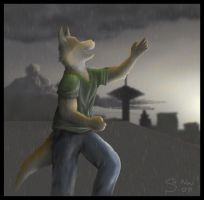 Singing on the Rooftop by Temiree