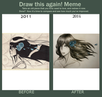 Draw this again! Meme by PureSunsetRose