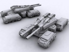 CnC 3 Mammoth Tank by Richbk