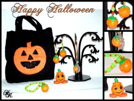 Halloween Gift Set by Cateaclysmic