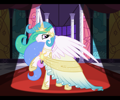 Celestia's Dress by LugiaAngel