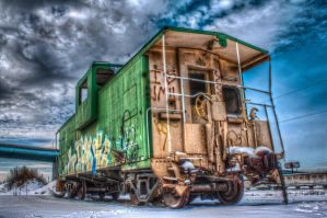 Caboose by cassaw-creative