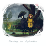 Raining in September by sycamoreleaf