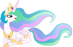 Princess Celestia by SparkPonies