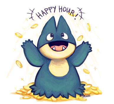 HAPPY HOUR !! by c-deng