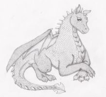 Baby Dragon by 0Ash0