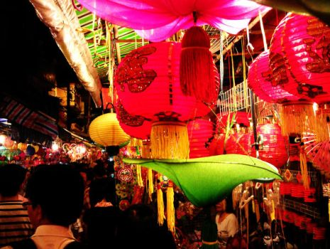 Moon Festival in HCMC by akasagiphan
