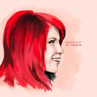 h-bomb hayley williams by oi2egon