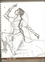 A Woman Dancing by CallThePatentOffice