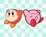 Kirby + Waddle Dee by ryzum