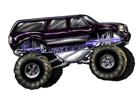 Monster truck by JSethThomas