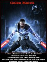 Galen Marek: Force Unleashed 2 by Melciah1791