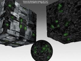 Borg Ships 'Completed' by lint77