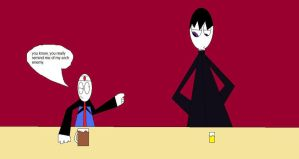 Lenny And Lelouch At A Bar by LRW0077