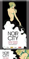 noir city posters by Pulvis