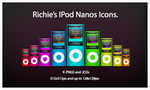 -Richie's IPod Nanos Icons- by Hemingway81