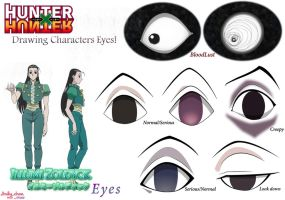 Hunter x Hunter - Illumi's Eyes by Andy-chanWantToDraw