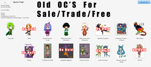 OC's For Sale/Trade/FREE - [OPEN] by Linkage92