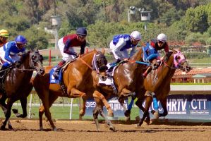 Santa Anita Race 1 by Codyrc74