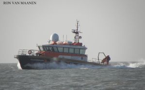 Dutch survey crew support vessel Guardian 2011- by roodbaard1958