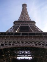 Below the Eiffel Tower by Photography09