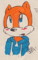 Conker rolling his eyes by angelsunbomb