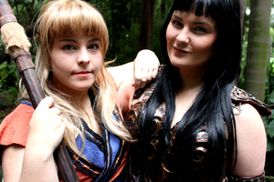 Gabrielle and Xena by FantasticDolly