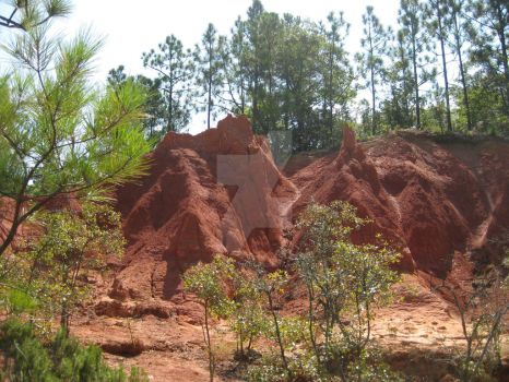 Red Clay Mountain 02 by Guardian-of-Worlds