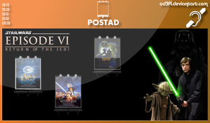 PostAd - 1983 - Star Wars Episode 6 Return Of The  by od3f1