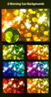 Bokeh backgrounds- 6 shades by diamonddew123