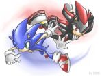 Sonic and Shadow by Aizuconi