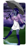 AT with WingedZephyr - Singing in the Rain by LindsayPrower