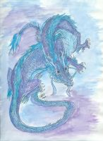Chinese Lung Dragon by DragonSpark