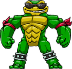 Rash (Battletoads) by Hologramzx