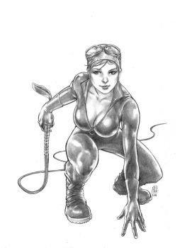 Catwoman sketch by huy-truong