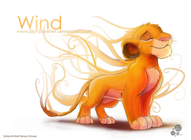 Wind by LillayFran