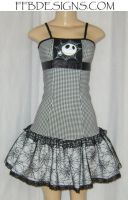 NBC Houndstooth dress by funkyfunnybone