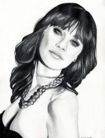 Zooey Deschanel by EmilyHitchcock