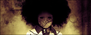 Afro Horror by LewisKF22