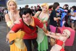 SacAnime Summer 2016: Gaston and Bimbettes by SuperShadow781