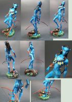 Neytiri_ministatue_enhanced by skinnydevil