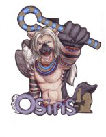 Osiris Badge by IndigoAngelCat