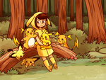Pika forest! by miyu96