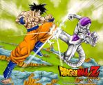Goku vs Freeza by ZehB