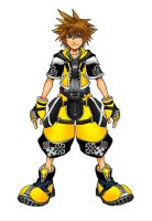 Kingdom Hearts 2 Master Form by Marduk-Kurios