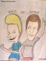 Beavis and Butthead by ScoBionicle99